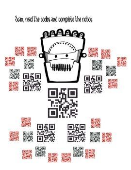 QR CODES MR. ROBOT THE GALLON EXPERT(english version)