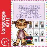 Listening Center QR Code Cards