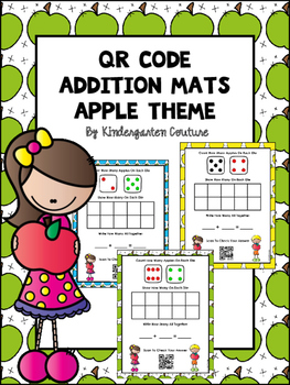 QR Code Addition Mats -Apple Theme