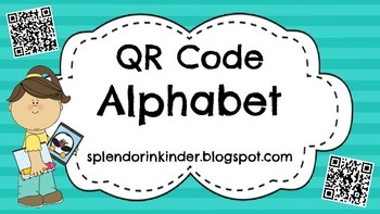 QR Code Alphabet Activity