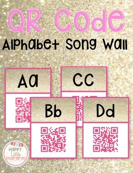 QR Code Alphabet Song Cards - Using Technology in Kindergarten