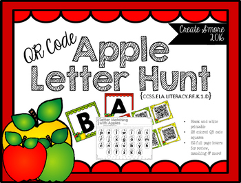 QR Code Apple Letter Hunt