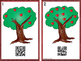 QR Code Apple Tree -Count, Write, Scan