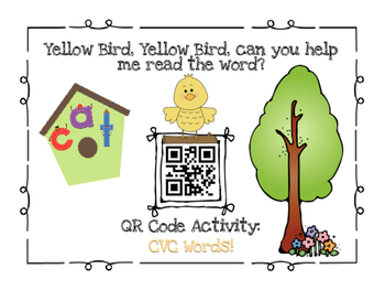 QR Code ~ CVC Words!