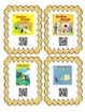 QR Code Cards for 28 different Curious George Stories. Gre