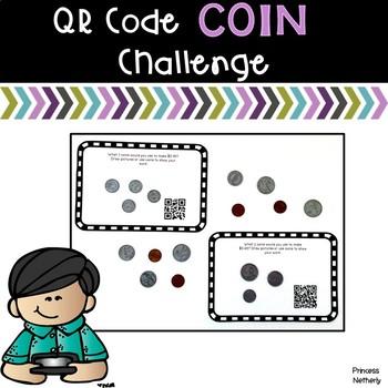 QR Code Coin Challenge
