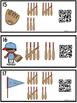 QR Code Counting Tally Marks 1-20 -Baseball Bats