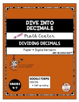 QR Code - Dividing Decimals