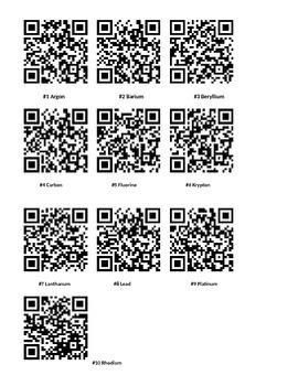QR Code Elements Activity
