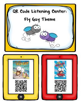 QR Code Fly Guy Listening Center