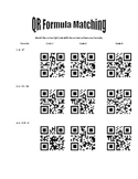 QR Code Formula Matching Activity