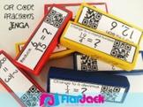 QR Code Fractions Jenga - FREE