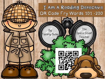 QR Code Fry Words 101-200 Reading Detectives