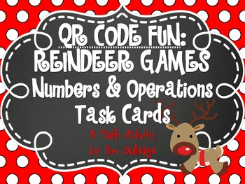 QR Code Fun: Task Cards - Addition, Subtraction, Multiplic