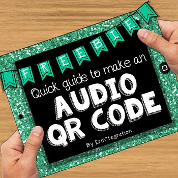 FREE Audio QR Code Guide - How to make talking audio QR co