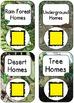 QR Code Listening Centers: Animal Homes and Habitats Nonfi