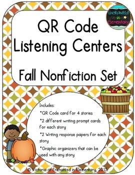 QR Code Listening Centers: Fall Nonfiction Set