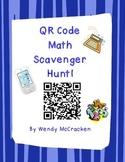 QR Code Math Scavenger Hunt