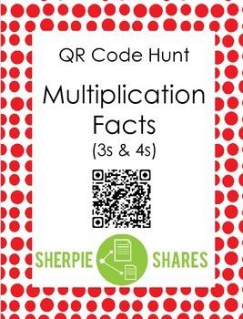QR Code - Multiplication (3,4)