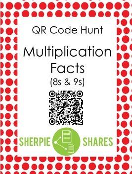 QR Code - Multiplication (8,9)