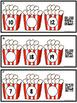 QR Code Missing Number Task Cards 0-20 Popcorn