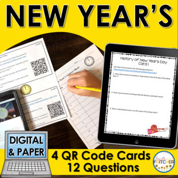 QR Code Quest: New Year's