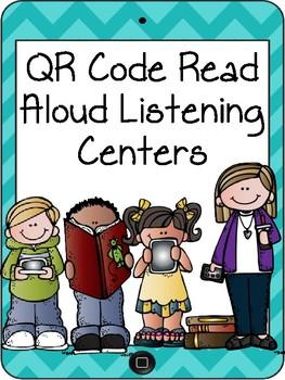 QR Code Read Aloud Listening Centers