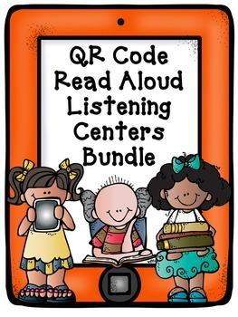QR Code Read Aloud Listening Centers Bundle
