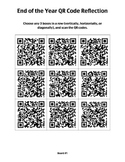 QR Code Reflection Tic-Tac-Toe