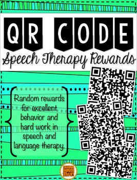 QR Code Rewards for Speech Therapy