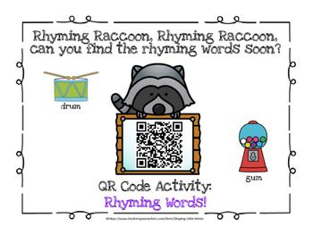 QR Code ~ Rhyming Words!