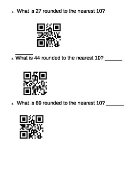 QR Code Rounding to 10's and 100's