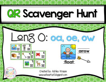 QR Code Scavenger Hunt: Long O