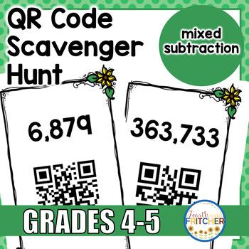 QR Code Scavenger Hunt: Subtraction