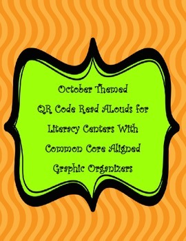 October QR Code Stories for Listening Centers and Common C
