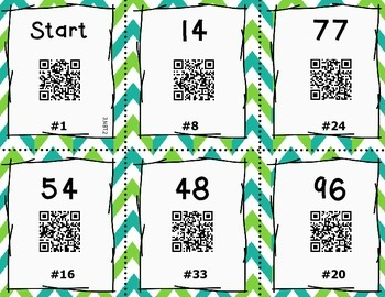 QR Code Task Cards - 3.NBT.2 (Add/Sub Place Value)