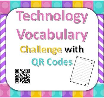 QR Code Technology Vocabulary Challenge