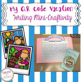 QR Code Vacation Writing