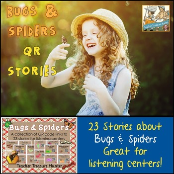 QR Code stories - 23 stories about BUGS and SPIDERS ~ Grea