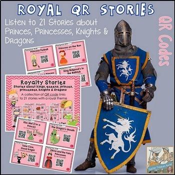 QR Codes - 21 QR stories ~ prince princess dragon knight k