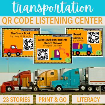 QR Code Listening Center ~ 23 stories Transportation VEHIC
