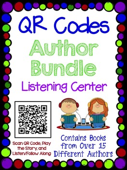 QR Codes Author Bundle - Listening Center
