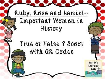 Ruby Bridges, Rosa Parks, & Harriet Tubman