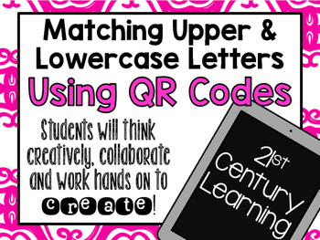 QR Codes: Matching Upper and Lowercase Letters