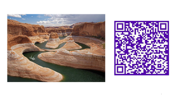QR Codes Plate Tectonics, WED, and Topographic Maps plus s