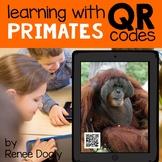 QR Codes - Primates (monkeys, chimpanzees, gorillas, orangutans)