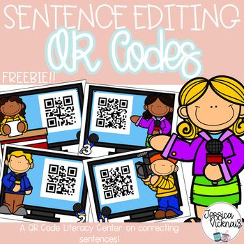 QR Codes Reporting on Sentences: Editing Sentences