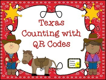 QR Codes ~ Texas Counting with QR Codes, Planet Happy Smiles