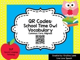 QR Codes: Vocabulary Owls {Common Core Aligned}