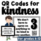 School Wide RAK Challenge: QR Codes for Kindness